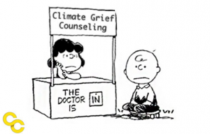 Dealing with psychological problems from climate change.