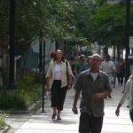 Walkable neighborhood