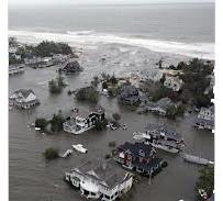 Hurricane Sandy relief payments come six months later, trashing climate-proof family finances.
