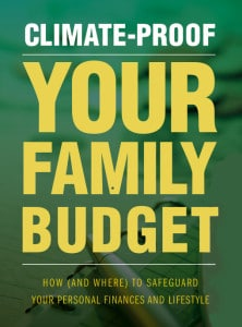Climate-Proof Your Family Budget book cover