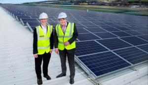 Solar energy creating middle-class jobs.